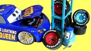 Disney Carros 3 Fabuloso Relampago McQueen Carrinho de Metal Diecast Jada ToysBR