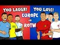 You Laugh, You Lose! feat. Neymar, Messi, Ronaldo and Harry Kane! ► 442oons