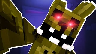 Minecraft FNAF - EVIL SPRINGTRAP!! (Minecraft Five Nights at Freddy's Roleplay) Ep 4