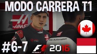 F1 2016 MODO CARRERA PROFESIONAL HAAS F1 TEAM PARTE 6 y 7: Mónaco y Canadá