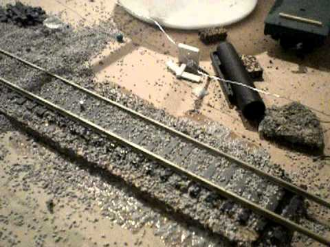 How to Ballast your track