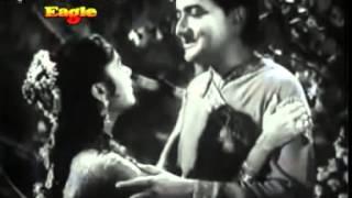 NAIN MILE CHAIN KAHA  BY MANNA DEY  u0026 LATA,M D SHANKAR JAIKISHAN,   BASANT BAHAR 1956     Y