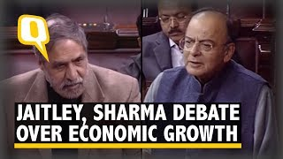 'Indian Economy Is Struggling,' Says Anand Sharma, Irks Jaitley | The Quint