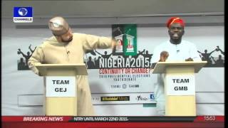 Rubbing Minds: PDP, APC Supporters Debate Continuity Or Change Part 4