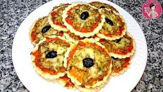 وصفات البيتزا و ميني بيتزا pizza