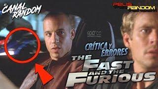 Errores de películas Fast and Furious - Rápidos y Furiosos - A todo Gas WTF PQC Resumen