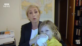 VIRAL BBC Interview Spoof From A Mom and Kids! | What's Trending Now!