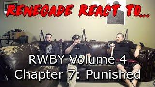 Renegades React to... RWBY Volume 4, Chapter 7: Punished