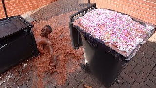 WORLDS MOST INSANE HOT CHOCOLATE! (80 LITRES)