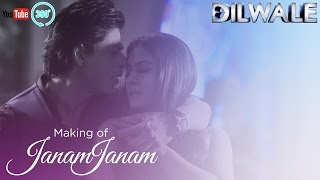 Janam Janam - Making of in 360 | Dilwale | Shah Rukh Khan | Kajol