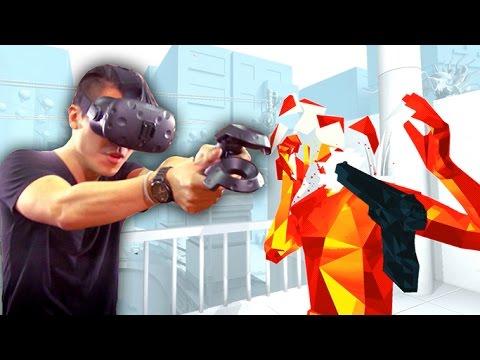VR SUPERHOT on HTC Vive