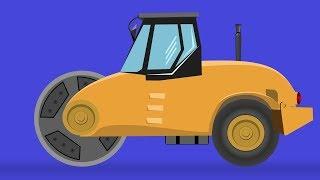kids tv channel | road roller | construction vehicles for kids