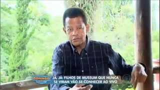 domingo show Geraldo visita família de Mussum e revela baú com relíquias do humorista 13 04 2014 mir