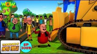 Motu ka bulldozer - Motu Patlu in Hindi - 3D Animation Cartoon - As on Nickelodeon