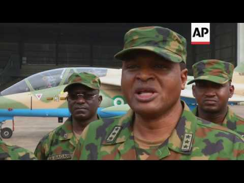 Nigerian airforce stages counter terror drill