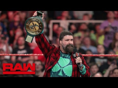 Xxx Mp4 Mick Foley Debuts The 24 7 Championship Raw May 20 2019 3gp Sex