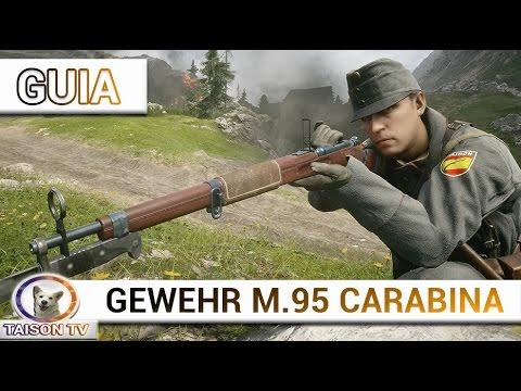Battlefield 1 el Gewehr M.95 Carabina, Guía y detalles