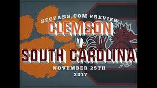 Clemson vs South Carolina - Preview & Predictions 2017 - College Football
