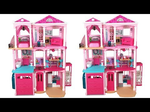 Xxx Mp4 Barbie Dream House 2015 Unboxing Assembly دمية باربي البيت Casa De Boneca Barbie 3gp Sex