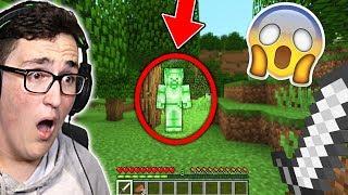 I FOUND GREEN STEVE IN MINECRAFT! (Scary Minecraft Video)