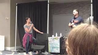How Laura Bailey and Travis Willingham Met