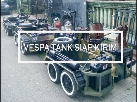 Vespa tank Rsj Kediri