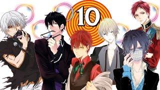 10 หนุ่มหล่อตาสองสี | Top 10 Odd Eyes/Heterochromia Anime boys Characters