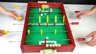 How to Make a Table Football | Soccer Table |