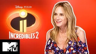 Incredibles 2: Holly Hunter Plays Would You Rather?   MTV MOVIES