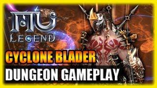 MU Legend Cyclone Blader and Dungeon Gameplay English 2016