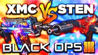 XMC vs STEN... THE ULTIMATE FACE OFF! 😱 (Black Ops 3 New DLC Weapon Update)