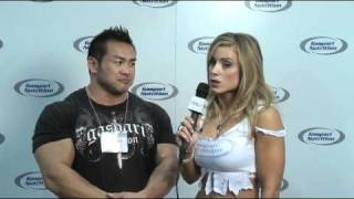 Hidetada Yamagishi - Arnold Classic 2011 Gaspari Interview