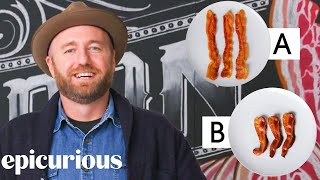 Bacon Expert Guesses Cheap vs Expensive Bacon | Price Points | Epicurious