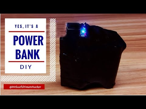 Xxx Mp4 Waste Material Make Useful Things At Home L DIY Power Bank L Cool Ideas 3gp Sex