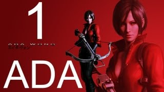 Resident Evil 6 walkthrough - part 1 HD ADA walkthrough gameplay RE6 Full ada walkthrough