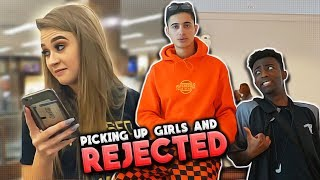 PICKING UP GIRLS AT THE MALL... *he got rejected*