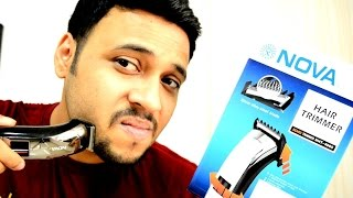 Nova NHT 4005 Trimmer UNBOXING | All about Nova Trimmers.