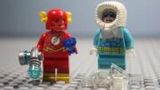 Lego Flash and Captain Cold Test 1