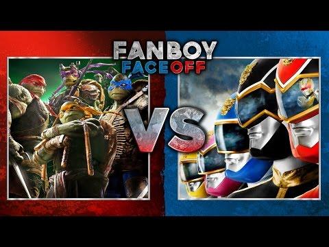 Teenage Mutant Ninja Turtles vs Power Rangers Fanboy Faceoff