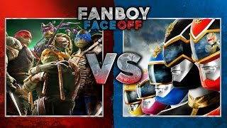 Teenage Mutant Ninja Turtles vs Power Rangers: Fanboy Faceoff