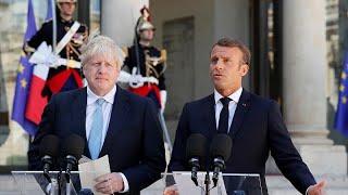 Brexit : Macron reste ferme sur la frontière irlandaise