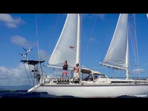 A drone crash, a lost tooth and a live concert! Sailing Vessel Delos Ep. 115