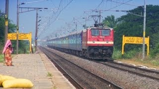 Train video of Janmabhoomi Express At Chiluvur.