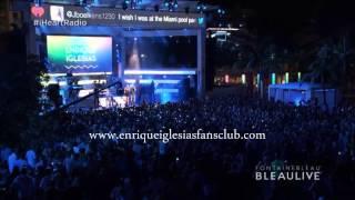 ENRIQUE IGLESIAS MILEY CYRUS iHeartRadio Ultimate Pool Party MIAMI