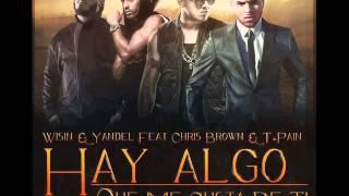 Wisin & Yandel Ft. Chris Brown & T-Pain - Algo Me Gusta De Ti [Audio]