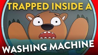 What If You Were Trapped Inside A Washing Machine?