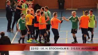 2 DAY - 22.02.17 [GROUP C] I.K. HEPHATA STOCKHOLM - G.S.V. AUGSBURG (6 - 3)