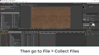 How to package After Effects project files
