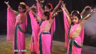 Bengali Rabindra Sangeet Dance | Edin Aji Kon Ghore | Surer Agun | Rabindra Sangeet | Gold Disc