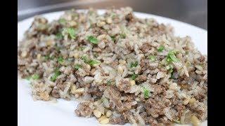 How To Make Lebanese Hashweh Rice